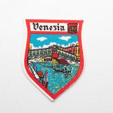 Vintage Venezia Venice Grand Canal Travel Souvenir Patch