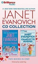 JANET EVANOVICH CD COLLECTION - FULL BLOOM & FULL SCOOP