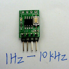 Frequency Continuously Adjustable 0.1% Step 1Hz-10kHz replace Ne555 Dds Cd4017