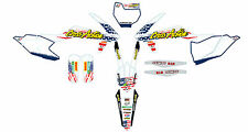 KIT GRAFICHE COMPLETE CROSS ACTION KTM SX 125 2016 PARASTELI FORCELLONE GRAPHICS