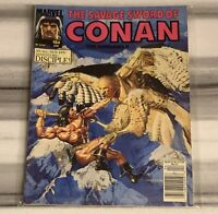 SHIPS SAME DAY The Savage Sword of Conan #184 April 1991 Marvel Magazine GD Low
