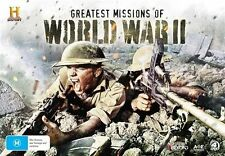 Greatest Missions Of WORLD WAR II Collection 4-DVD WWII 2017 BOX NEW RELEASE R4