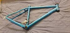 """Retro Apollo Charm 18"""" Alloy Mountain Bike Frame 26"""" Wheel Matt Blue"""