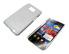 NEW WHITE SNAP ON HYBRID HARD CASE COVER FOR SAMSUNG GALAXY S2 i9100 UK