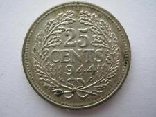 Netherlands 25 Cents 1944 EF