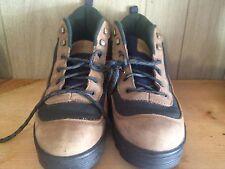 Mens Eddie Bauer Suede Hiking Boots Size 10 M Nice!