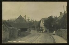 Somerset MISTERTON  Middle St Post Office RP PPC 1917
