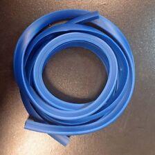 Side panel trim rubber blue (pair) for Vespa PX & LML Star