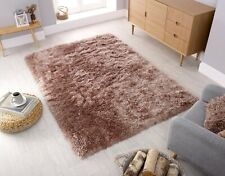 ORSO 8CM HIGH PILE THICK FLUFFY SUPER SOFT SHAGGY MINK RUG IN VARIOUS SIZES