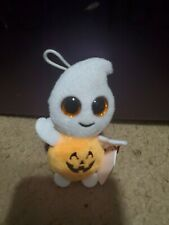 Ty Haloweenie Beanies Scary the Ghost