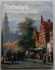 Sotheby Auktionskatalog European Paintings 2007 Catalogue no book buch