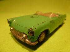 TEKNO DENMARK  1:43   2 X  FORD THUNDERBIRD  GREEN   -    IN  GOOD  CONDITION