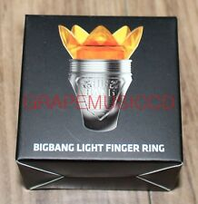 BIGBANG 10TH CONCERT OFFICIAL GOODS LIGHT FINGER RING NEW