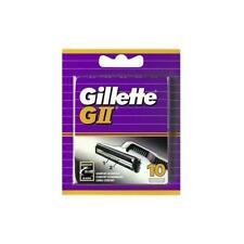 GILLETTE Replacement Blades Razor GII 1 Pack Of 10