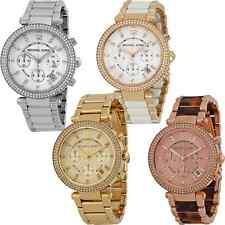 Michael Kors Parker Chronograph Ladies Watch - Many Styles