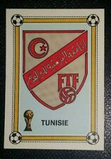 1978 PANINI ARGENTINA 78 WORLD CUP ORIGINAL UNUSED TUNISIA TUNISIE  BADGE 151