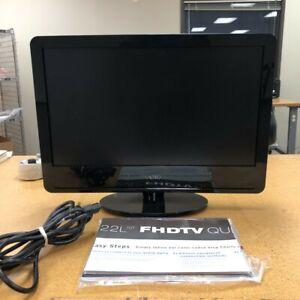 """Vizio VA22L FHDTV10T-B 22"""" Class LCD HDTV - 1080p w/ Remote Manual"""