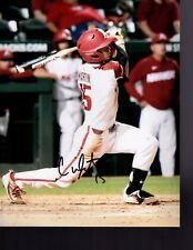 Casey Martin Arkansas Razorbacks Baseball Signed 8X10 Photo W/Coa
