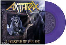 "ANTHRAX - A MONSTER AT THE END, ORG 2016 GERMAN LILAC vinyl 7"", 300 COPIES! NEW!"