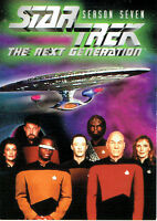 STAR TREK THE NEXT GENERATION SEASON SEVEN PROMOTIONAL CARD UNUMBERED 2