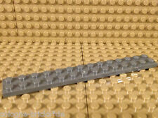 Lego® 5 x Platte 2x14 dunkelgrau Neu 91988