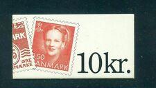 Denmark 1991 10 Kr C11 back Booklet HA24
