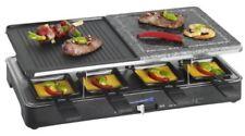 Raclette Grill und heißer Stein 8 Personen 1400 Watt Clatronic RG 3518
