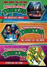 Teenage Mutant Ninja Turtles - The Movie Collection 3dvd Set DVD Region 2