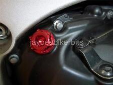 OIL FILLER CAP CNC RED APRILIA RS250 RSV1000 MILLE TUONO FACTORY FALCO  R1A8