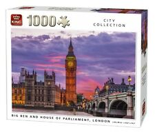 1000 Piece Jigsaw Puzzle-Big Ben et chambre du parlement, london town 05658