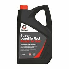 NEW COMMA SUPER LONGLIFE RED ANTIFREEZE & COOLANT READY TO USE 5 LITRE SLC5L