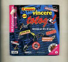 Andrea Matthiae # COME VINCERE AL TOTOGOL # Kyber Edizioni 1999