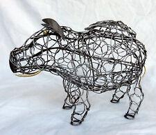 Pig / Boar Shape Wire Egg Storage Basket  - BNWT