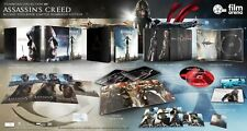ASSASSIN'S CREED FILMARENA Edition Steelbook Limited Blu-ray 3D + 2D (VF)