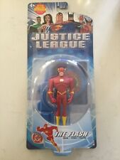 THE FLASH Action Figure JUSTICE LEAGUE, Mattel 2002 NEW 4.5 Inch