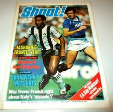 Shoot 15 Jan,1983/FA Cup Wallchart/Justin Fashanu/Charlton/Man Utd/Villa/Ipswich