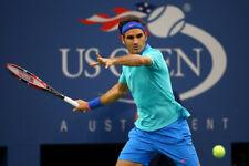 Nike Federer 2014 Us Open Tennis Polo Shirt Medium Rare Nadal