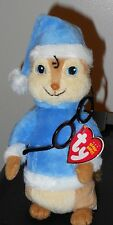 Ty Beanie Baby ~ SIMON Holiday Hat (ALVIN and the Chipmunks) Glasses Falling Off