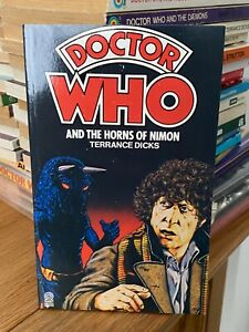 doctor who target book -  THE HORNS OF NIMON