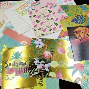 Flamingo Cardstock Die Cuts For Scrapbooking DIY Photo Album Card Making Crafts