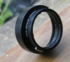 Leica Leicaflex R SLR lens hood genuine for 50mm & 35mm lens reverse mount 12564
