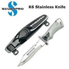 Scubapro K6 Stainless Knife 32.006.100 Diving Knifes Dive Cutter Scuba