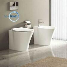 Sanitari filo muro Ideal Standard Connect Air vaso AquaBlade,bidet e coprivaso