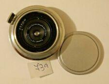 RARE Carl Zeiss Jena Tessar Lens 1:8 28mm 2.8cm for Contax