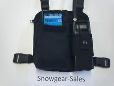 NEW 4- point radio chest harness with Cell Phone pocket. Made in USA.
