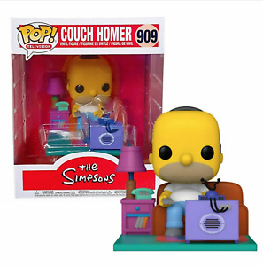 NEW Funko Pop! The Simpsons Deluxe Couch Homer Watching TV #909