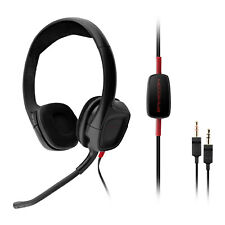 Plantronics GameCom 308 Wired Stereo Gaming Headset (Black)