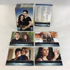 THE TWILIGHT SAGA BREAKING DAWN PART 2 (Neca 2012) Complete 72 Card Set