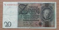 GERMANY  20 MARK 1924    &ban 165