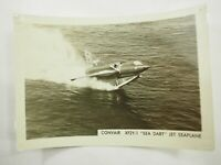 "Convair XF2Y-1 ""Sea Dart"" Jet Seaplane photo from a large collection 5"" x 3.75"""